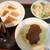 インアウト - 焼サンド&ミートソーススパゲティ
