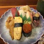 幸寿司 - 料理写真:にぎり7貫