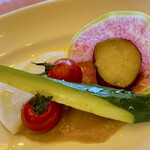 147674796 - 季節野菜のバーニャカウダ