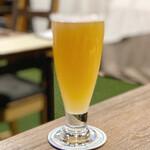 スモーク ビア ファクトリー NAMACHAん Brewing - カマドブリュワリー 笠置ゆずヘイズ