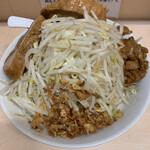 自家製ラーメン大者 - 料理写真:油そば トッピング〜?(ヤサイ、ニンニク)