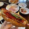 シュトゥーベン・オータマ - 料理写真:福生ドック 具材がシンプルでいいね!パンが少しハードなのも◎