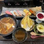 水天 - 料理写真:ランチ 由布 1850円