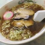 銀星食堂 - 正油ラーメン510円