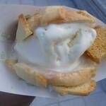 世界で2番めにおいしい焼きたてメロンパンアイス -