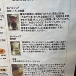 麺屋 ねむ瑠 - 卓上の調味料