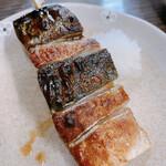 ごっつり - 銀鯖串焼き 1本380円