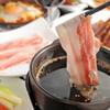 琉球茶屋 くわっち~ - 料理写真:当店オススメ♪オイルしゃぶしゃぶ