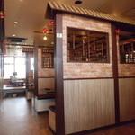 中国飯店真味 - 店内は全て仕切られております。