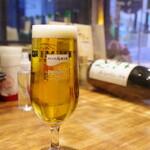 銀ゼロ - 生ビール
