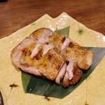 銀ゼロ - つくば鶏柚胡椒焼き