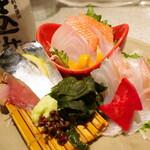 日本酒スローフード方舟 - 刺し盛り