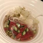 新日本焼肉党 - 冷麺もイタリアン系
