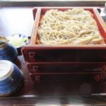 Koshikiteuchisobaizumi - 【せいろそば大盛 1870円】