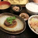 定食や - サバ味噌定食 スモール
