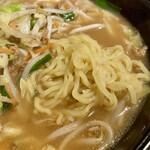 中国料理 味道 - 野菜味噌麺 接写。