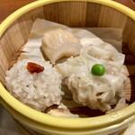 中国料理 味道 - 点心の三種盛り。