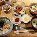 赤坂うまや - しらす丼定食