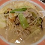 浜ちゃんぽん - 料理写真:ちゃんぽん700円