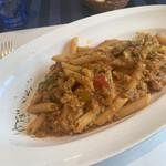 147729771 - マエストラーレ(北西の風)コース ¥2,500税込                                              カマスのサルシッチャのトマトソース ペンネ