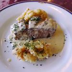 パッサージュ・ドール - スズキのソテー(ランチの魚料理)