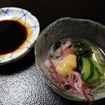 Harukichi - 小鉢(ホタルイカの酢の物)