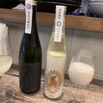 ALL WRIGHT sake place - こちらで醸造した作品