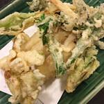 浅草すし若 - 春野菜の天ぷら