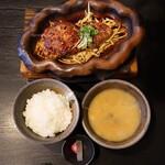 147733608 - 神戸ビーフ ハンバーグ&ステーキ(税込2,180円)