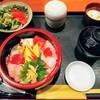 ほうせん - 料理写真:海鮮丼定食!混んでたけど提供早い!定食というより御膳ですな。