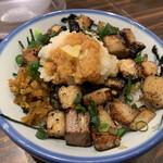 AFURI - 2021/3/8 ディナーで利用。 炙りコロチャーシュー丼(580円)