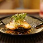 魚菜料理 縄屋 - マナガツオの幽庵味噌焼き