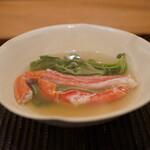 魚菜料理 縄屋 - かにしゃぶ