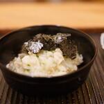 魚菜料理 縄屋 - とらふぐの雑炊