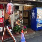 キッチンウェスト - 下北沢北側の飲食店が並ぶ通り沿いにあります。