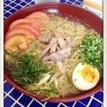 あおぞら - 夏期限定の冷麺 800円 2012.9