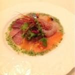ロワ ドゥ ラ ナチュール - 料理写真:アミューズ  海の幸のサラダ