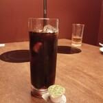 銀座しゃぶしゃぶ petit 羅豚 - アイスコーヒー