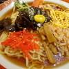 カネシメ柿崎そば店  - 料理写真:つゆがたっぷりの冷やし中華