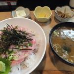 鳥獣菜魚 あい川 - ネギトロ丼¥500
