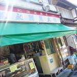松永甘味堂 - 外観。昭和のかほり漂う駄菓子屋さん