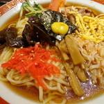 カネシメ柿崎 - つゆがたっぷりの冷やし中華