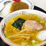 中華料理 紅蘭 - カレーセット