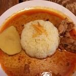 不思議香菜 ツナパハ - スリランカカリー。チキンとジャガイモは、ホロホロです。