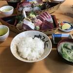 味処あさみ - 料理写真:刺身定食(上)