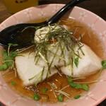 147755755 - ジーマミー豆腐の揚げ出汁