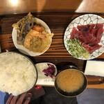 147757216 - マグロ定食