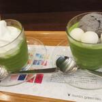ナナズグリーンティ - 抹茶の風味が強くて好きです!
