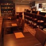 家庭料理 きんどん - カウンター8席、テーブル席4人席×5組