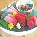 阿波水産 - ◆まぐろ祭◆開催!!期間限定メニュー多数☆写真は「生本まぐろ造り盛り」